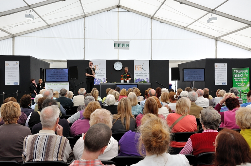 Since 2008 the BFA has had a significant presence at the RHS  Tatton Park Flower Show. The BFA Marquee is a popular feature at the  show with live competitions, floristry demonstrations and exhibits by  colleges and local professionals.
