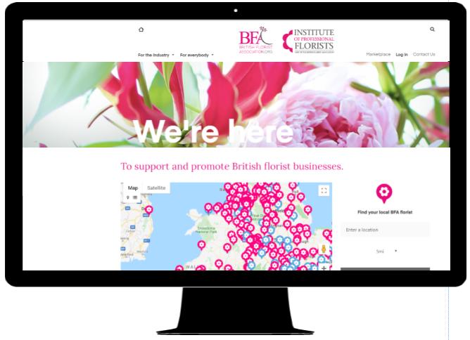 British Florist Association Find a Florist