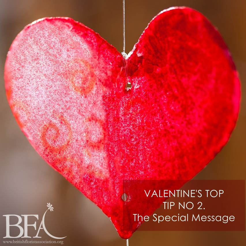 BFA Valentines top tips for flowers