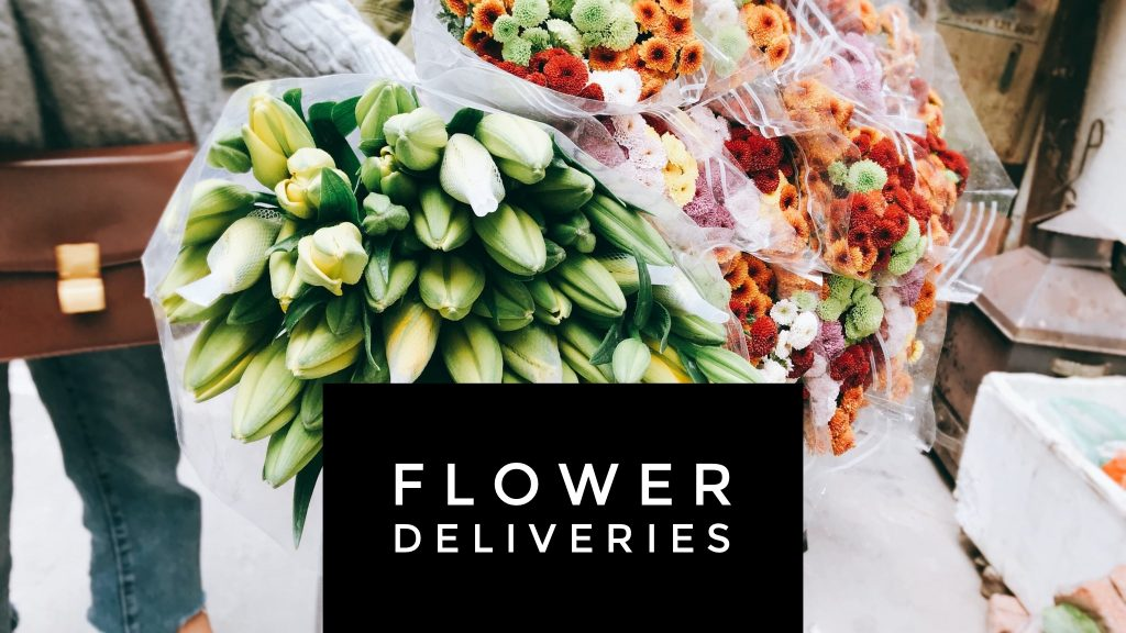 British Florist Association Contactless deliveries and click and collect. Copy Tracy Tomlinson
