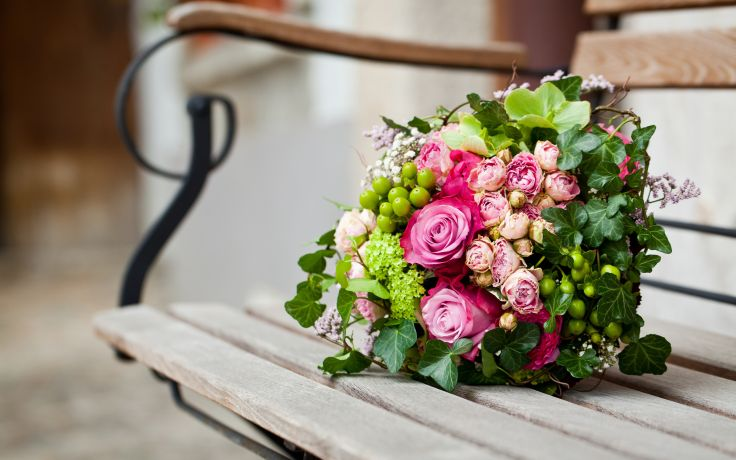 British Florist Association Lonely Bouquet Day 28th June 2020