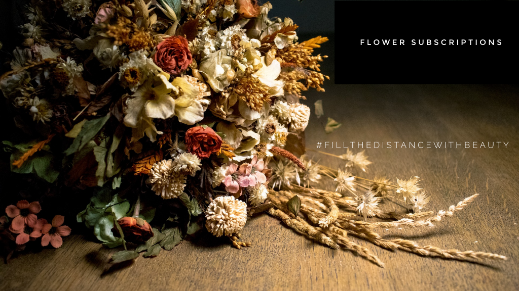 Flower Council of Holland Fill the Distance Dried flowers